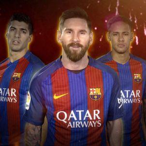 Barça Messi Neymar Luis Suárez Paco Alcácer André Gomes FC Barcelona
