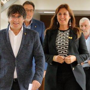 Puigdemont i Laura Borràs   ACN