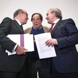 Nicolás Redondo  Francesc de Carreras César Antonio Molina - Eduardo Parra / Europa Press