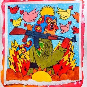 guerrillera kurda Cavolo