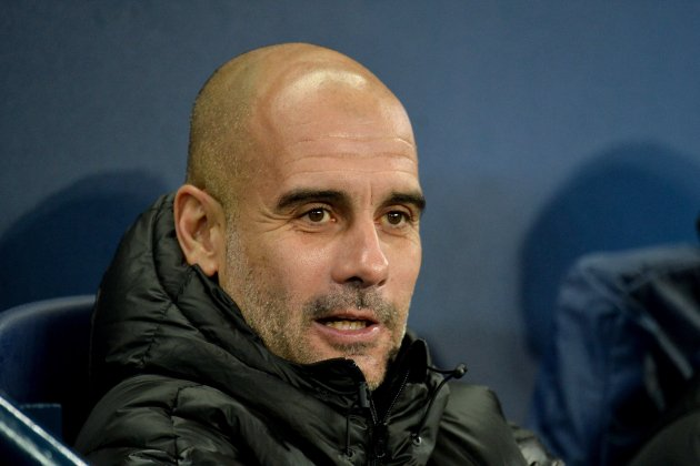 Pep Guardiola Manchester City Champions EFE