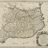 Test 84. Els virreis de Catalunya. Mapa de Catalunya (circa 1640). Font Bibliothèque Nationale de France (1)