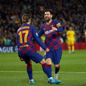 Messi Griezmann Barca Champions Borussia Dortmund EFE