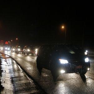 Cua de cotxes a la carretera C-16 - ACN
