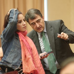 Adriana Lastra PSOE Aitor Esteban PNB Congres - Eduardo Parra / Europa Press
