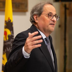 Quim Torra president Flandes Jan Jambon - David Zorrakino - Europa press
