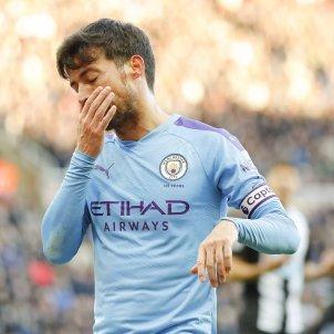 David Silva trist Manchester City EFE