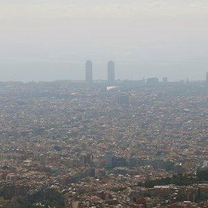 Contaminació Barcelona EFE