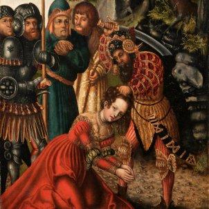 Cranach el Vell, Martiri de Santa Bàrbara (ca 1511)