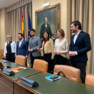 Gabriel Rufián Pere Aragonès direcció ERC Senat Congrés Nicolas Tomas