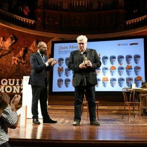 Quim Monzó Òmnium Premi Honor Lletres Catalanes ACN