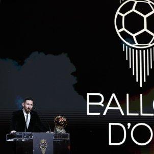 Leo Messi sol Pilota Or escenari EFE