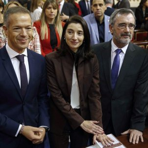 Ander Gil Pilar Llop Manuel Cruz Cristina Narbona Senat EFE
