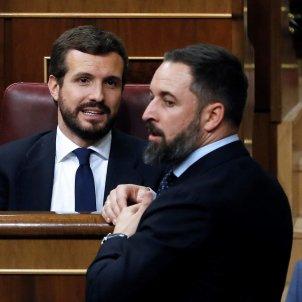 Pablo Casado Santiago Abascal Congrés Diputats EFE