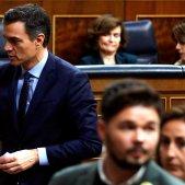 Pedro Sánchez Carmen Calvo Gabriel Rufián Congrés Diputats EFE