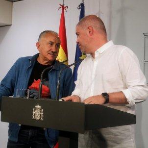 Unai Sordo i Pepe Álvarez   ACN