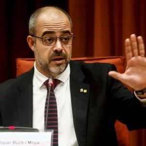 Miquel Buch compareixença Parlament - Efe