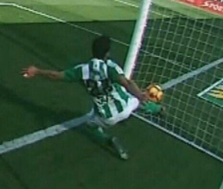Gol fantasma Barça Betis