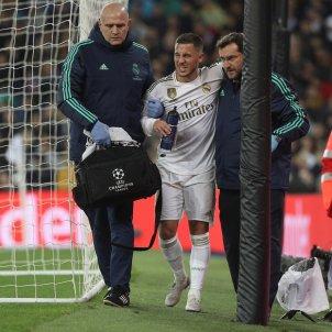 Eden Hazard Reial Madrid lesionat EFE