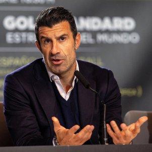 Luis Figo xerrada Madrid EFE