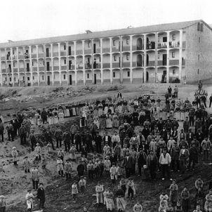 Colònia Viladomiu. 1905. Habitatges dels treballadors
