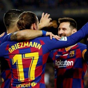 Messi Griezmann Luis Suárez Barça Mallorca EFE