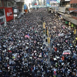manifestacio drets humans hong kong - efe