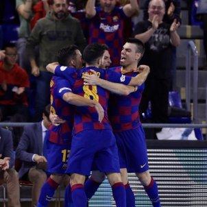 Barça futbol sala celebració FC Barcelona
