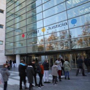 Ciutat Justicia Valencia partit arreglat EFE