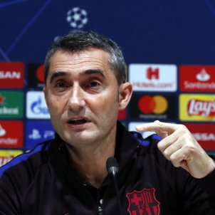 Ernesto Valverde Champions Barça EFE
