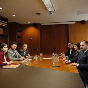 Reunió ERC PSOE investidura Barcelona - Sergi Alcàzar