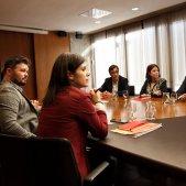 Reunió ERC PSOE investidura Barcelona 5   Sergi Alcàzar