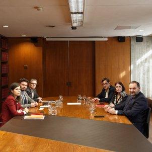 Reunió ERC PSOE investidura Barcelona 4   Sergi Alcàzar