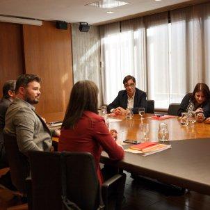 Reunió ERC PSOE investidura Barcelona 3   Sergi Alcàzar