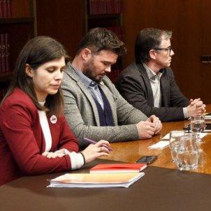 Reunió ERC PSOE investidura Barcelona 6   Sergi Alcàzar