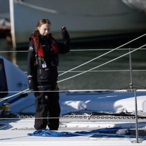 greta thunberg catamarà Lisboa Efe