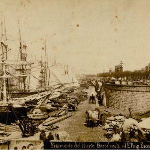 Jornada Tràgica. Port de pescadors de Barcelona