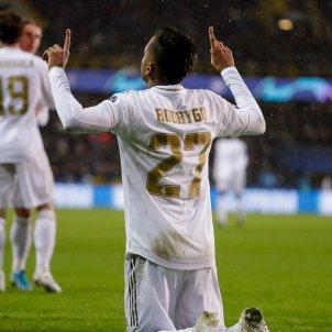 Rodrygo Bruges Reial Madrid Champions EFE