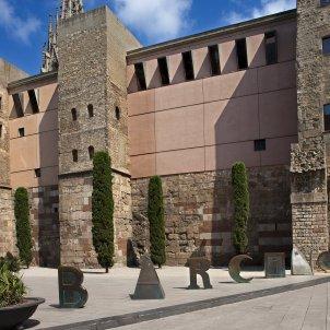 Joan Brossa Escultura Barcino 4 7 12 (Pepe Navarro Ajuntament de Barcelona)