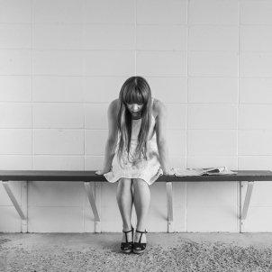 Chica triste Pixabay