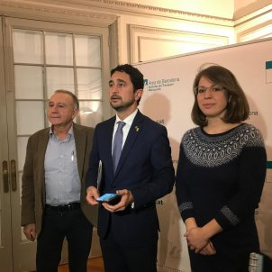 Antoni Poveda Damià Calvet y Janez Sanz ATM - Europa press