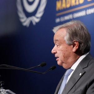 Antonio Guterres efe