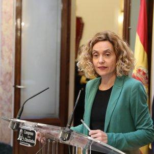EuropaPress 2547289  La presidenta del Congreso Meritxell Batet durante su intervención en la mesa del Congreso de los Diputados en Madrid (España) a 13 de diciembre de 2019