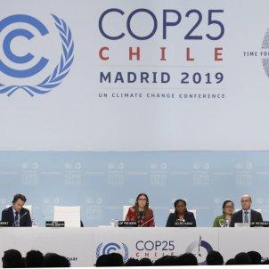 Conferència Clima Madrid COP25 ONU Efe