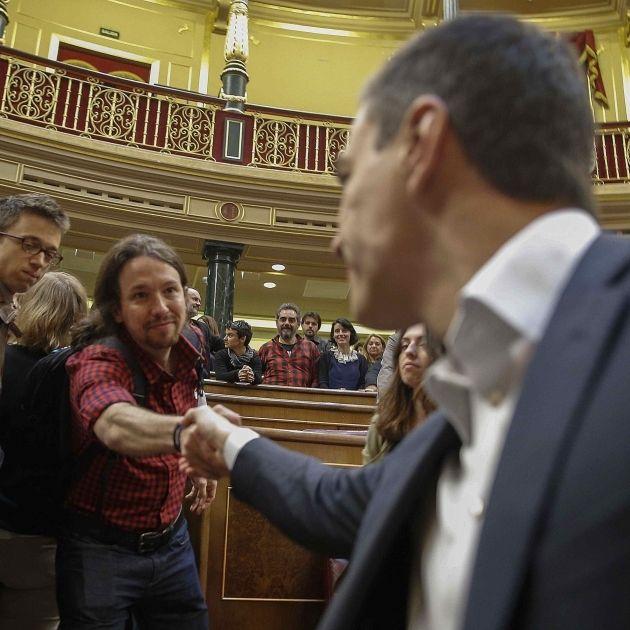 Pedro Sanchez Pablo Iglesias Congreso Efe