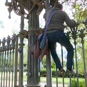 Parc de la Ciutadella tancat betevé