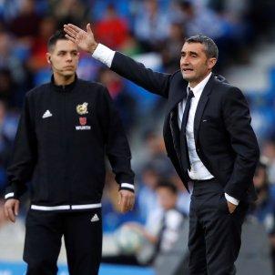 Ernesto Valverde Reial Societat Barça EFE