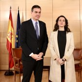 Sánchez i Arrimadas investidura foto psoe
