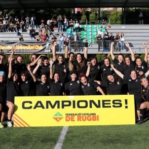 BUC Campió Rugbi Foto Federació Catalana de Rugby