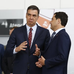 Pedro Sánchez Juanma Moreno - Álex Cámara / Europa Press